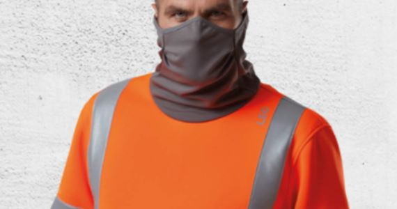 Introducing The Combesgate EcoViz AirLayer Snood Sweatshirt