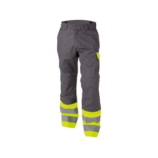Dassy Lenox High Vis Yellow Multi-Norm Work Trousers