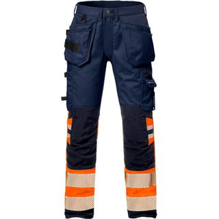 Fristads 2709 Womens High Vis Stretch Work Trousers