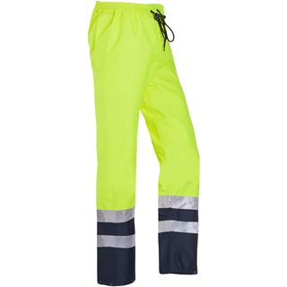 Sioen 5841 Tarviso High Vis Yellow Overtrousers
