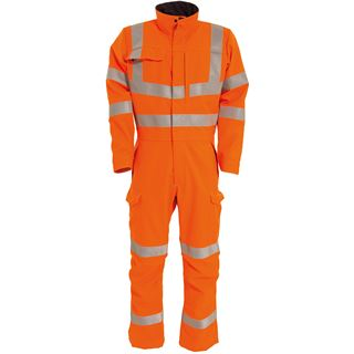Tranemo 6111 Orange High Vis Arc FR Overalls