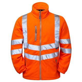 Pulsarail PR508 High Vis Polar Fleece Jacket
