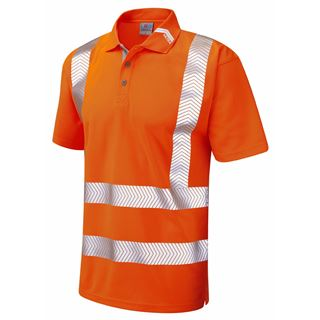 Leo P09 Broadlands High Vis Polo Shirt