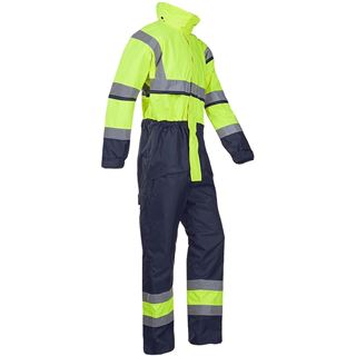 Sioen 440 Cabin Waterproof Thermal High Vis Overalls
