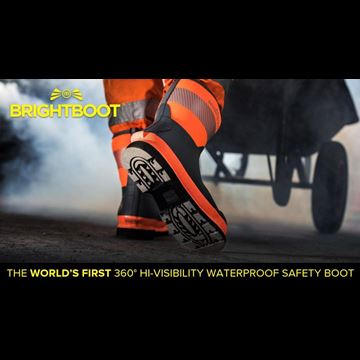 Brightboot High Visibility Safety Boot Range - Now Available at Granite Workwear
