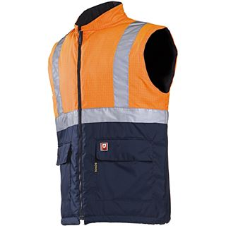 Sioen Bravone High Vis Orange FR Body-warmer