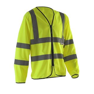Pulsar Flame Retardant High Vis Long Sleeved Vest PFR439.