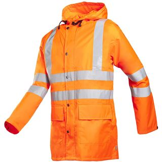 Sioen Monoray 198 High Vis Orange Waterproof Jacket
