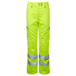 Pulsar P346LDS Ladies High Vis Trousers