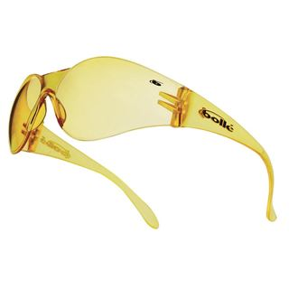 Bolle Bandido Yellow Safety Glasses
