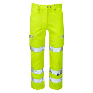 Pulsar P346LDS2 Ladies High Vis Yellow Trousers