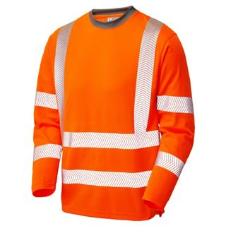 Leo T08 Capstone Coolviz High Vis Long Sleeve T-shirt