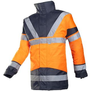 Sioen Skollfield 209 High Vis Orange Jacket with Body Warmer
