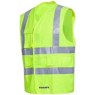 Sioen Corato High Vis Yellow FR AST Vest