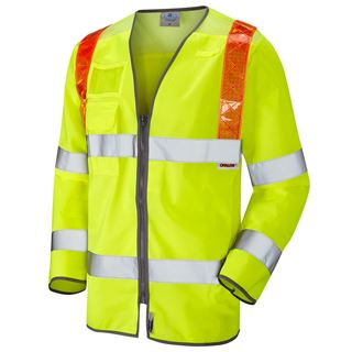 Leo Barbrook Traffic Management High Vis Vest