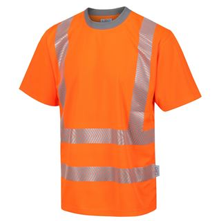Leo T03 Larkstone Coolviz High Vis T-shirt