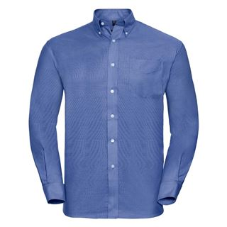 Russell 932M long sleeve Oxford shirt