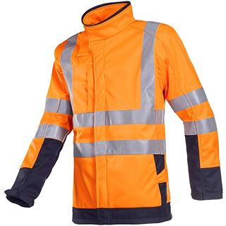 Sioen Playford 9633 Orange High Vis Arc Protection Soft Shell