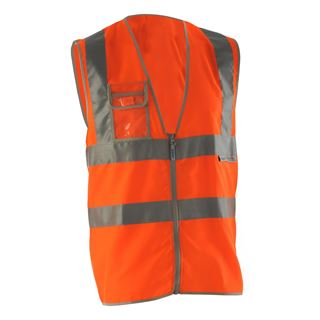 Pulsar P198 High Vis Orange Vest
