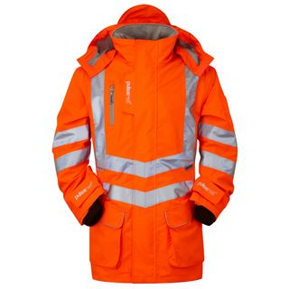Pulsarail PR499 High Vis Unlined Storm Coat