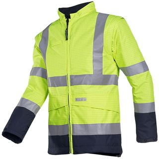 Sioen Oregon 1874 Oregon High Vis Yellow FR Jacket