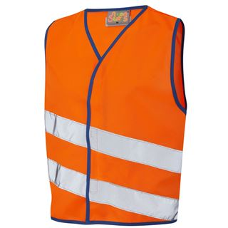 Leo CW01 Neonstars Childrens High Vis Vest