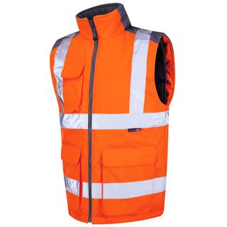 Leo BW01 Torrington High Vis Bodywarmer
