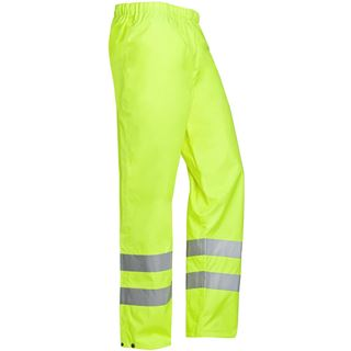 Sioen Bitoray 199 High Vis Yellow Waterproof Overtrousers