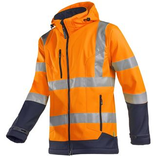 Fuller 9933 Soft Shell High Vis Orange Jacket