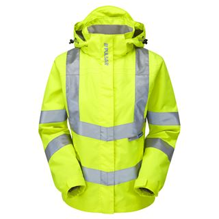 Pulsar P704 Ladies Hi Vis Yellow Jacket