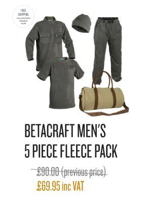 Betacraft Men's Fleece Pack