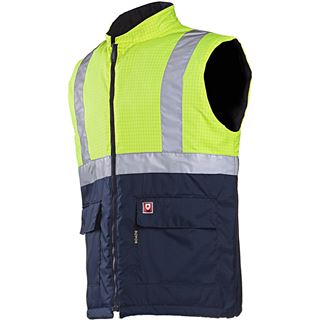 Sioen Bravone High Vis Yellow FR Body-warmer