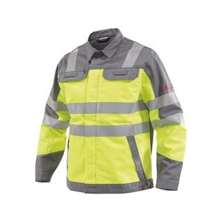Dassy Franklin Multinorm High Vis Yellow Work Jacket