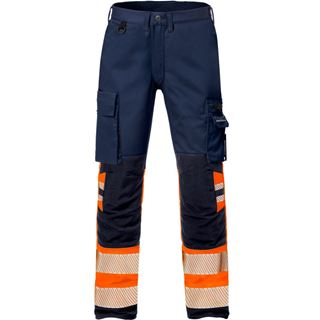 Fristads 2708 High vis Womens stretch work trousers