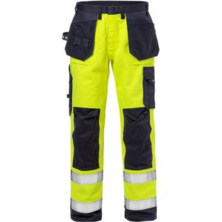 Fristads 2584 High Vis Yellow FR Work Trousers