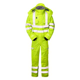 Pulsar P522 Waterproof High Vis Overall