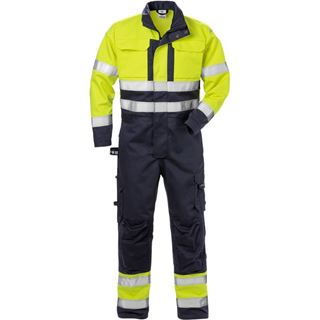 Fristads 8084 High Vis Yellow FR Overalls