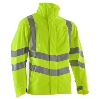 Pulsar P534 High Vis Soft Shell Jacket
