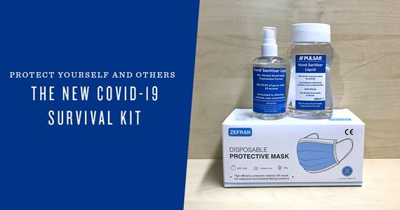 The New Covid-19 3-Piece Survival Kit