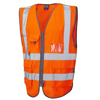 Leo Barnstaple W22 Tear Apart High Vis Vest