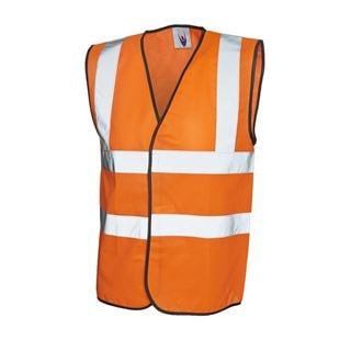 UC801 High Vis Orange Vest