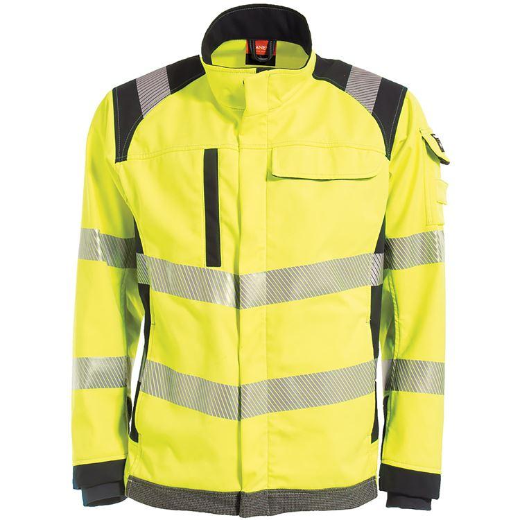 Blaklader Workwear Anti-Flame Waistcoat High Vis Cl 3 Yellow LXL
