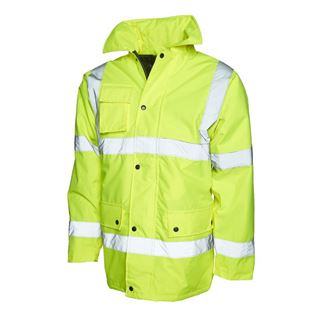 UC803 High Vis Yellow Parker Jacket