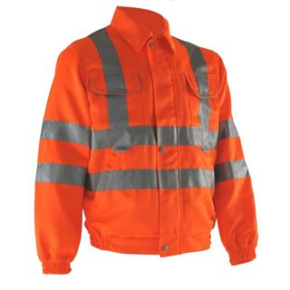 Pulsarail PR338 High Vis Work Jacket