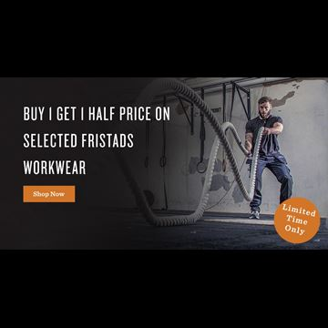 Buy 1 Get 1 Half Price On Selected Fristads Workwear