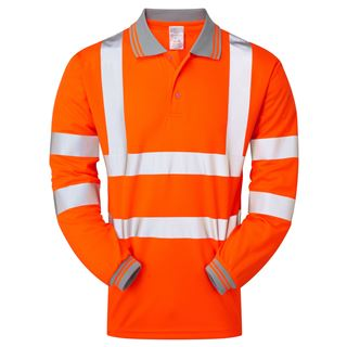 Pulsarail PR470 High Vis Polo shirt