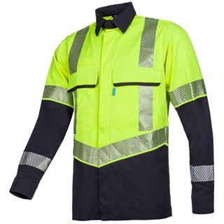 Sioen Colne High Vis Yellow Arc Shirt