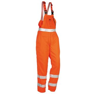 High Vis Chainsaw Bib & Brace Type 'A' SIP1SG9.