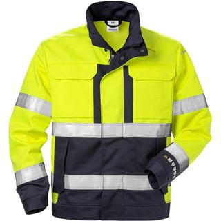 Fristads 4584 High Vis Yellow FR Jacket