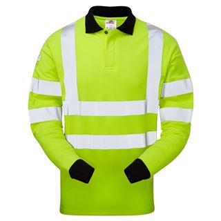 Pulsar High Vis FR Anti-static Polo Shirt PFRASC21.